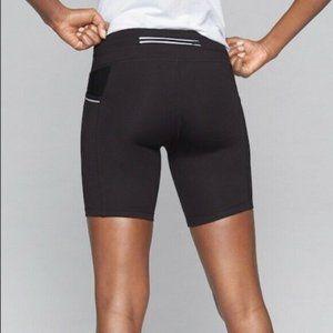 Athleta Be Free Workout Shorts Size Small